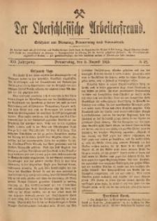 Der Oberschlesische Arbeiterfreund, 1911/1912, Jg. 12, No 52