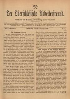 Der Oberschlesische Arbeiterfreund, 1911/1912, Jg. 12, No 54