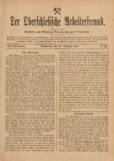Der Oberschlesische Arbeiterfreund, 1911/1912, Jg. 12, No 63