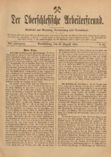 Der Oberschlesische Arbeiterfreund, 1911/1912, Jg. 12, No 64