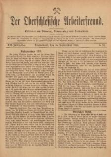 Der Oberschlesische Arbeiterfreund, 1911/1912, Jg. 12, No 71