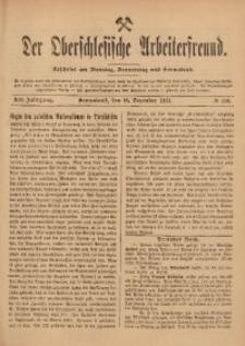 Der Oberschlesische Arbeiterfreund, 1911/1912, Jg. 12, No 110