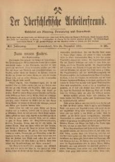 Der Oberschlesische Arbeiterfreund, 1911/1912, Jg. 12, No 115