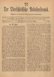 Der Oberschlesische Arbeiterfreund, 1911/1912, Jg. 12, No 122
