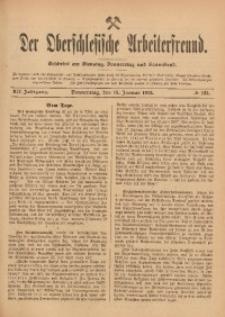 Der Oberschlesische Arbeiterfreund, 1911/1912, Jg. 12, No 123