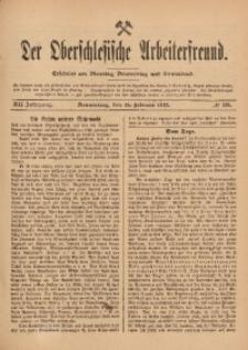 Der Oberschlesische Arbeiterfreund, 1911/1912, Jg. 12, No 135