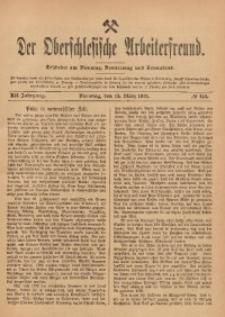 Der Oberschlesische Arbeiterfreund, 1911/1912, Jg. 12, No 146