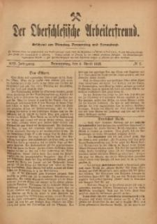 Der Oberschlesische Arbeiterfreund, 1912/1913, Jg. 13, No 2