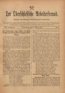 Der Oberschlesische Arbeiterfreund, 1912/1913, Jg. 13, No 3