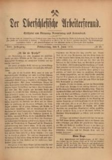 Der Oberschlesische Arbeiterfreund, 1912/1913, Jg. 13, No 27