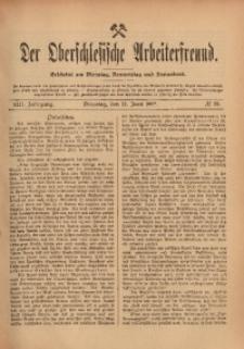 Der Oberschlesische Arbeiterfreund, 1912/1913, Jg. 13, No 29