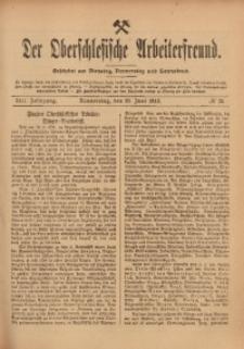 Der Oberschlesische Arbeiterfreund, 1912/1913, Jg. 13, No 33