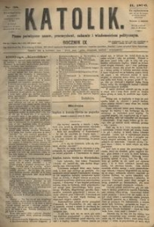 Katolik, 1876, R. 9, nr 38