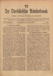 Der Oberschlesische Arbeiterfreund, 1912/1913, Jg. 13, No 43