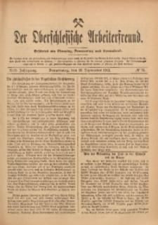 Der Oberschlesische Arbeiterfreund, 1912/1913, Jg. 13, No 75
