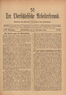 Der Oberschlesische Arbeiterfreund, 1912/1913, Jg. 13, No 99