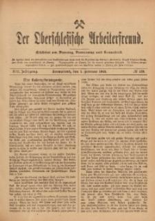Der Oberschlesische Arbeiterfreund, 1912/1913, Jg. 13, No 129