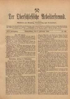 Der Oberschlesische Arbeiterfreund, 1912/1913, Jg. 13, No 132
