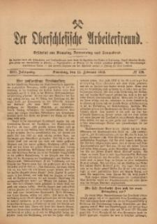 Der Oberschlesische Arbeiterfreund, 1912/1913, Jg. 13, No 139