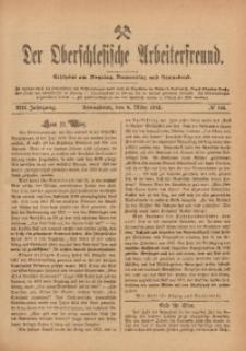 Der Oberschlesische Arbeiterfreund, 1912/1913, Jg. 13, No 144