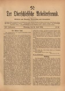 Der Oberschlesische Arbeiterfreund, 1913/1914, Jg. 14, No 36