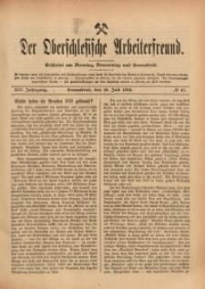 Der Oberschlesische Arbeiterfreund, 1913/1914, Jg. 14, No 47