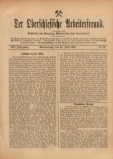 Der Oberschlesische Arbeiterfreund, 1913/1914, Jg. 14, No 49