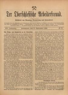 Der Oberschlesische Arbeiterfreund, 1913/1914, Jg. 14, No 77