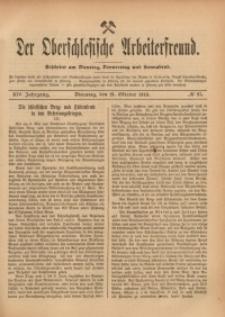 Der Oberschlesische Arbeiterfreund, 1913/1914, Jg. 14, No 87