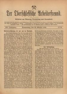 Der Oberschlesische Arbeiterfreund, 1913/1914, Jg. 14, No 91
