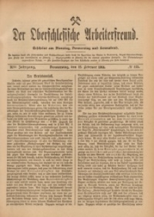 Der Oberschlesische Arbeiterfreund, 1913/1914, Jg. 14, No 135