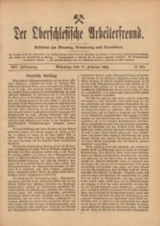 Der Oberschlesische Arbeiterfreund, 1913/1914, Jg. 14, No 137