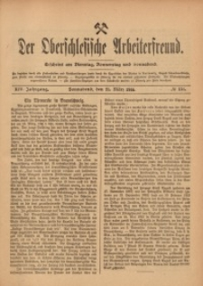 Der Oberschlesische Arbeiterfreund, 1913/1914, Jg. 14, No 151