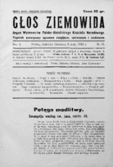 Głos Ziemowida, 1926, R. 2, nr 23