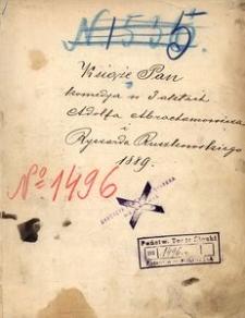 Książę Pan. Komedya w 3 aktach Adolfa Abrahamowicza i Ryszarda Ruszkowskiego. 1889