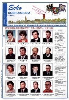 Echo Dobrodzienia i Okolic : pismo samorządu i mieszkańców miasta i gminy Dobrodzień 2002, nr 47.