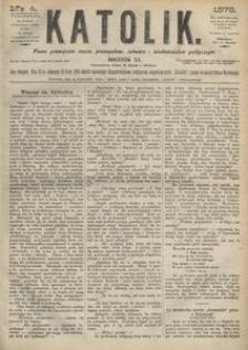 Katolik, 1878, R. 11, nr 4