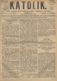 Katolik, 1878, R. 11, nr 20