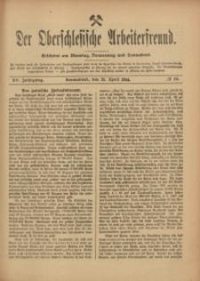 Der Oberschlesische Arbeiterfreund, 1914/1915, Jg. 15, No 10