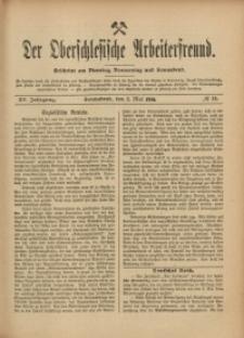 Der Oberschlesische Arbeiterfreund, 1914/1915, Jg. 15, No 13