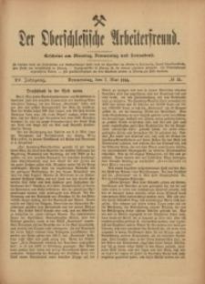 Der Oberschlesische Arbeiterfreund, 1914/1915, Jg. 15, No 15