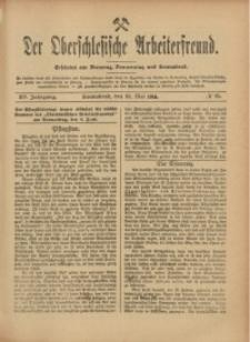 Der Oberschlesische Arbeiterfreund, 1914/1915, Jg. 15, No 25