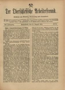 Der Oberschlesische Arbeiterfreund, 1914/1915, Jg. 15, No 57