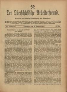 Der Oberschlesische Arbeiterfreund, 1914/1915, Jg. 15, No 58