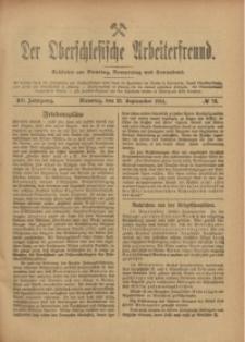 Der Oberschlesische Arbeiterfreund, 1914/1915, Jg. 15, No 73