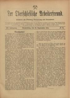 Der Oberschlesische Arbeiterfreund, 1914/1915, Jg. 15, No 74