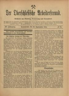 Der Oberschlesische Arbeiterfreund, 1914/1915, Jg. 15, No 75