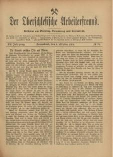 Der Oberschlesische Arbeiterfreund, 1914/1915, Jg. 15, No 78