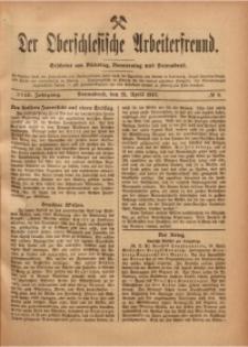 Der Oberschlesische Arbeiterfreund, 1917/1918, Jg. 18, No 8