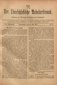 Der Oberschlesische Arbeiterfreund, 1917/1918, Jg. 18, No 17
